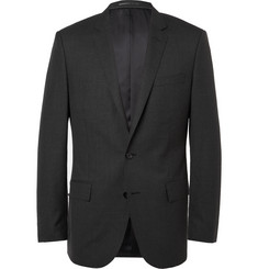 J.Crew Grey Ludlow Slim-Fit Wool Suit Jacket