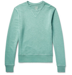J.Crew Garment-Dyed Loopback Cotton-Jersey Sweatshirt