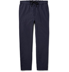 Public School - Tapered Grosgrain-Trimmed Cotton-Blend Trousers