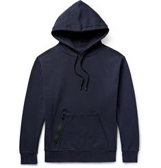 Public School Arbaa Tape-Trimmed Loopback Cotton-Jersey Hoodie