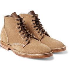 Viberg - Boondocker Suede Lace-Up Boots