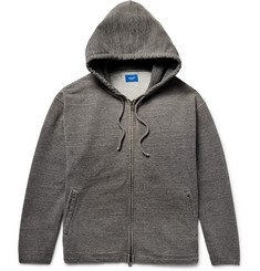 Beams - Loopback Cotton-Jersey Zip-Up Hoodie