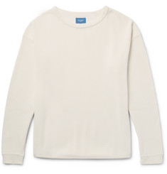 Beams Waffle-Knit Cotton T-Shirt