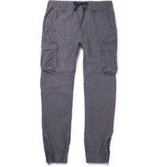 Beams Beams Japan Silm-Fit Cotton Cargo Trousers