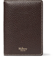 Mulberry - Full-Grain Leather Bifold Cardholder