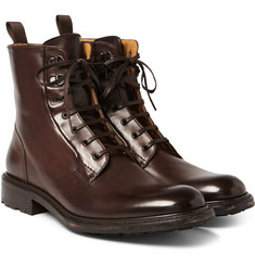 O'Keeffe - Polished-Leather Boots
