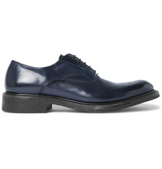 O'Keeffe Polished-Leather Derby Shoes