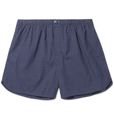 Calvin Klein Underwear Checked Cotton Boxer Shorts