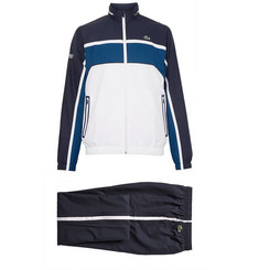 Lacoste Tennis Hooded Colour-Block Jersey Tracksuit