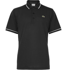 Lacoste Tennis Contrast-Tipped Ultra Dry Piqué Polo Shirt