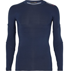 RLX Ralph Lauren Mesh-Pannelled Compression T-Shirt