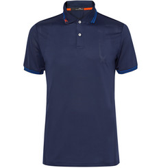 RLX Ralph Lauren Luke Donald Perforated Stretch-Jersey Polo Shirt