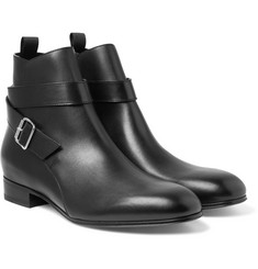 Balenciaga - Leather Jodphur Boots