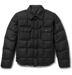 Balenciaga Reversible Quilted Wool-Blend Twill and Shell Jacket