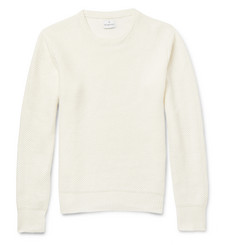 Kingsman Tuck-Stitch Linen Sweater