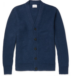 Kingsman Tuck-Stitch Linen Cardigan