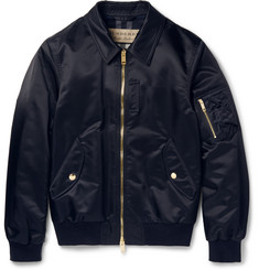 Burberry - Slim-Fit Shell Bomber Jacket
