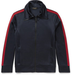 Burberry Jersey Zip-Up Sweatshirt