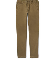 Burberry Slim-Fit Stretch-Cotton Twill Chinos