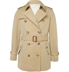Alexander McQueen Slim-Fit Cotton-Gabardine Trench Coat