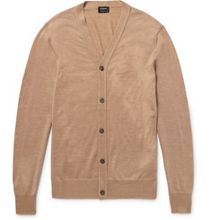 Jil Sander Wool and Silk-Blend Cardigan