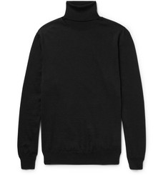Jil Sander Wool and Silk-Blend Rollneck Sweater