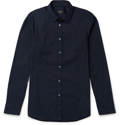Jil Sander Baita Slim-Fit Stretch Cotton-Blend Shirt