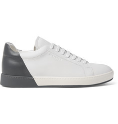 Jil Sander Two-Tone Leather Sneakers