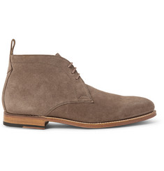 Grenson Marcus Washed-Suede Chukka Boots