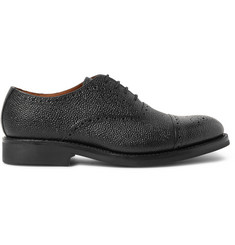 Grenson Matthew Pebble-Grain Leather Oxford Brogues
