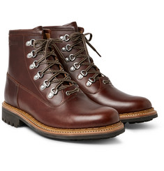 Grenson - Justin Panelled Leather Boots