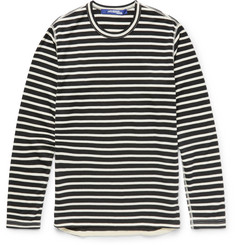 Junya Watanabe Slim-Fit Striped Cotton-Blend T-Shirt