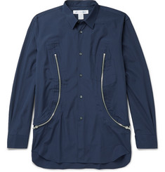 Comme des Garçons SHIRT Zip-Detailed Cotton Shirt