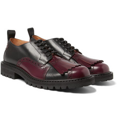 Dries Van Noten - Leather Kiltie Brogues