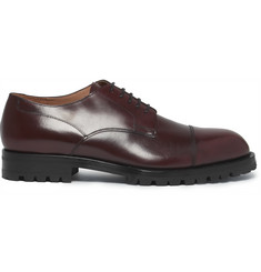 Dries Van Noten Cap-Toe Leather Derby Shoes