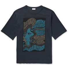 Dries Van Noten - Heaton Printed Cotton-Jersey T-Shirt