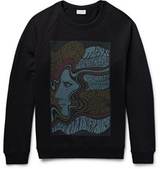 Dries Van Noten - Printed Loopback Cotton-Jersey Sweatshirt
