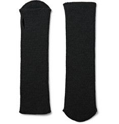 Dries Van Noten - Ribbed Wool Fingerless Gloves