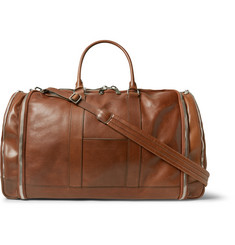 Brunello Cucinelli Leather Holdall