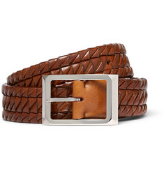 Brunello Cucinelli - 3cm Woven Leather Belt