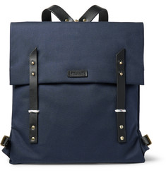 Miansai - Santon Leather-Trimmed Water-Repellent Canvas Backpack