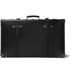 "Globe-Trotter - 30"" Croc-Effect Leather-Trimmed Trolley Case"