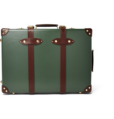 "Globe-Trotter - 21"" Leather-Trimmed Trolley Case"