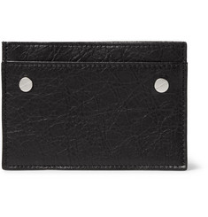 Balenciaga - Creased-Leather Cardholder