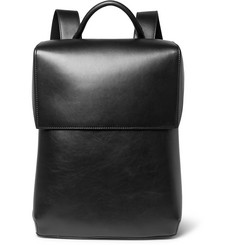 Balenciaga Phileas Full-Grain Leather Backpack