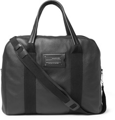 Balenciaga - Textured-Leather Holdall