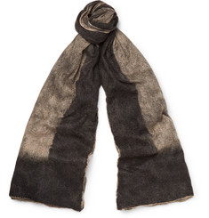 Balenciaga - Brushed Cashmere and Silk-Blend Scarf