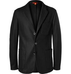 Barena Black Slim-Fit Stretch Virgin Wool Blazer