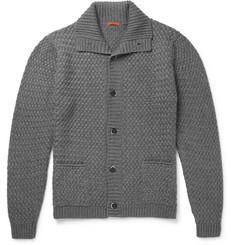 Barena Basketweave Wool-Blend Cardigan