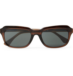 Dries Van Noten Square-Frame Acetate Sunglasses